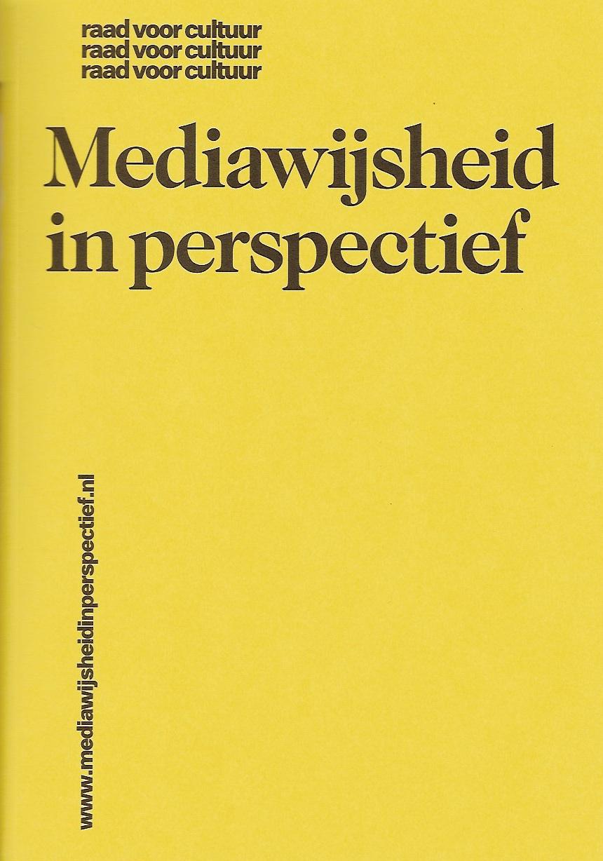Omslag Mediawijsheid in perspectief