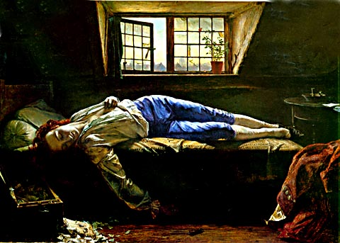 Chatterton\'s death